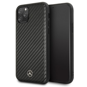 Mercedes Benz Dynamic Carbon Case iPhone 11 Pro Schwarz
