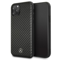 Mercedes Benz Dynamic Carbon Case iPhone 11 Pro Max Schwarz