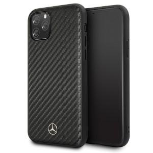 Mercedes Benz Dynamic Carbon Case / Hülle iPhone 11 Pro Max Schwarz