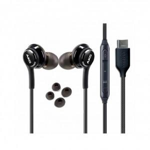 Samsung Original AKG In-Ear Typ C Headset / Kopfhörer Schwarz