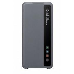 Original Samsung EF-ZG985CJEGEU Clear View Cover Galaxy S20+ Plus Grau