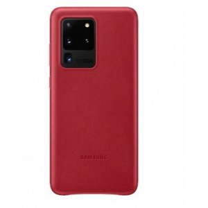 Original Samsung EF-VG988LREGEU Leder Hülle Galaxy S20 Ultra Rot