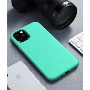 Cyoo BioCase iPhone 11 Hülle Bioplastik Türkis