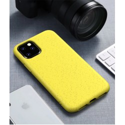 Cyoo BioCase iPhone 12 / 12 Pro 6.1 Hülle Bioplastik Gelb