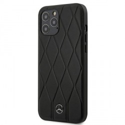 Mercedes Benz Wave Line iPhone 12 / 12 Pro 6.1 Schwarz Hard Cover
