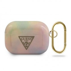 Guess Airpods Pro Tie & Dye Collection Cover Pink Schutzhülle Case