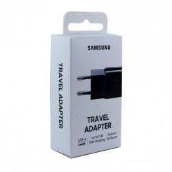 Original Samsung EP-TA20 USB Adapter Schwarz Ladegerät Netzteil 15W