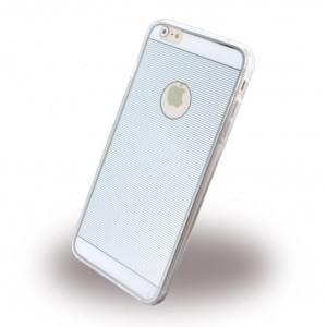 UreParts - TPU Cover / Case / Schutzhülle - Apple iPhone 6 Plus - Silber