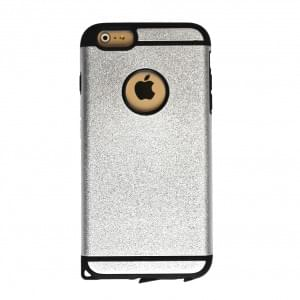 UreParts - Cool Armor - Hart Cover/Case/Schutzhülle - Apple iPhone 6 Plus - Silber
