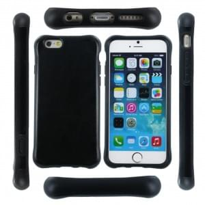 UreParts Shockproof - Hard Cover / Case / Schutzhülle - Apple iPhone 6, 6s - Schwarz
