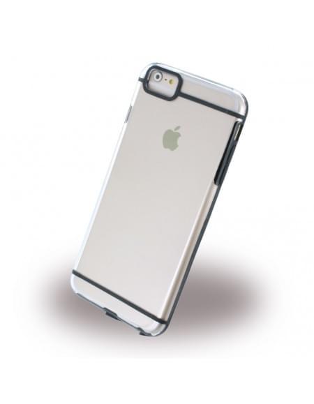 UreParts - Ultra Dünn - Clear Cover - Apple iPhone 6 Plus, 6s Plus - Schwarz