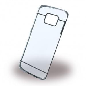 UreParts - Ultra Dünn - Clear Cover - Samsung G925F Galaxy S6 Edge - Schwarz