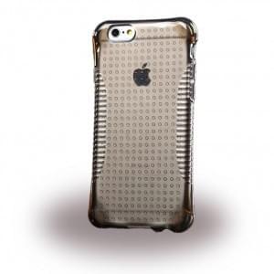 UreParts - TPU Cover / Case / Schutzhülle - Apple iPhone 6, 6s - Transparent / Schwarz