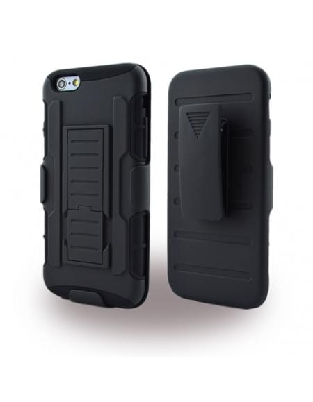 UreParts Armor Hardcover / Hardcase / Handy Hülle - Apple iPhone 6 Plus, 6s Plus - Schwarz