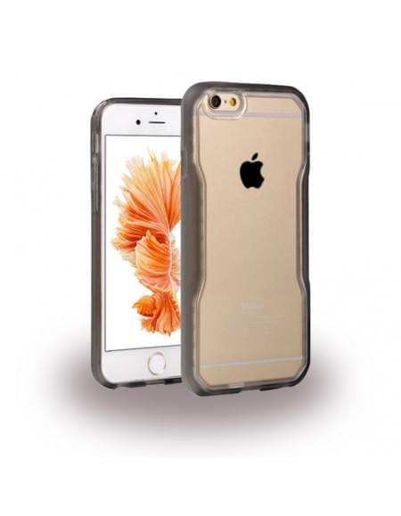 UreParts - TPU Cover / Case / Schutzhülle - Apple iPhone 6 Plus, 6s Plus - Schwarz