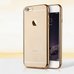 UreParts - Electroplating TPU Cover/ Case/ Schutzhülle - Apple iPhone 6, 6s - Rose Gold