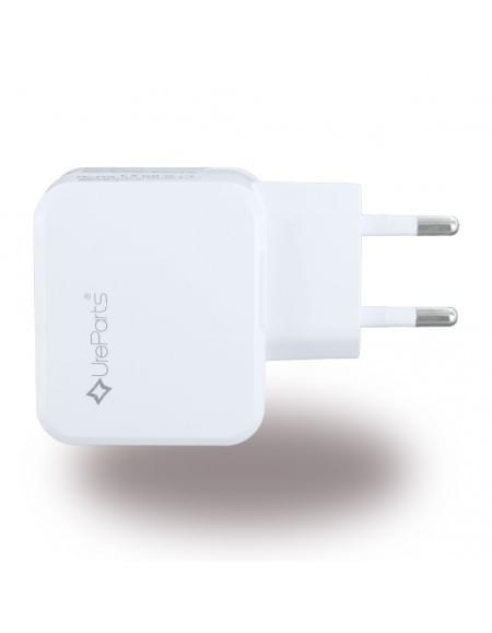 UreParts - USB Netzteil / USB Charger - 1000mA/2100mA - Weiss