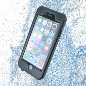 Redpepper - Wasserfeste Shockproof Schutzhülle / Cover / Case - Apple iPhone 6, 6s - Schwarz
