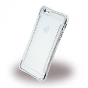 UreParts - Shockproof Antirutsch - Silikon Cover / Case / Schutzhülle - Apple iPhone 6, 6s - Silber