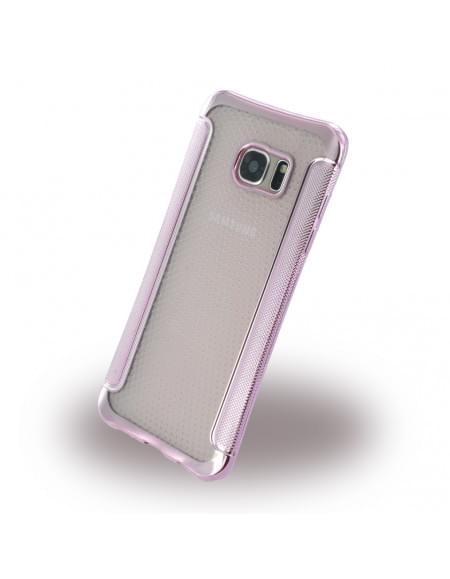 UreParts - Shockproof Antirutsch - Silikon Cover / Case / Schutzhülle - Samsung G935F Galxy S7 Edge - Pink