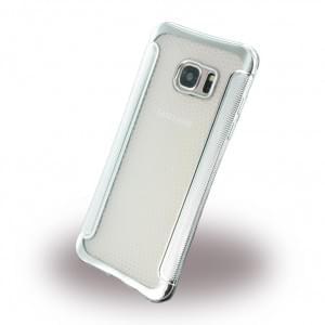 UreParts - Shockproof Antirutsch - Silikon Cover / Case / Schutzhülle - Samsung G935F Galxy S7 Edge - Silber