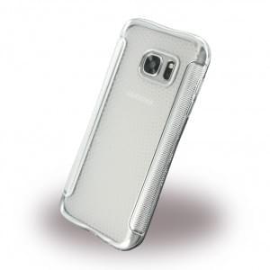 UreParts - Shockproof Antirutsch - Silikon Cover / Case / Schutzhülle - Samsung G930F Galxy S7 - Silber