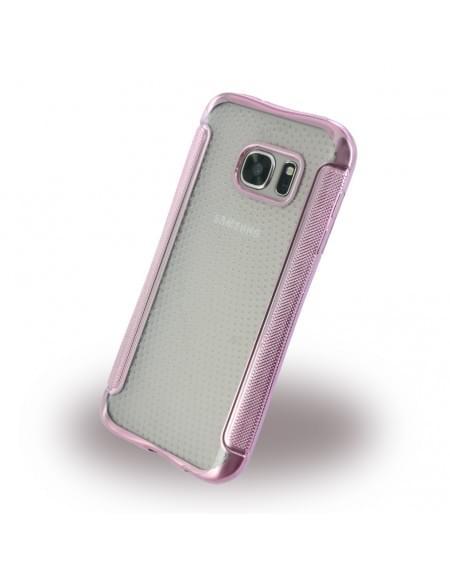 UreParts - Shockproof Antirutsch - Silikon Cover / Case / Schutzhülle - Samsung G930F Galxy S7 - Pink