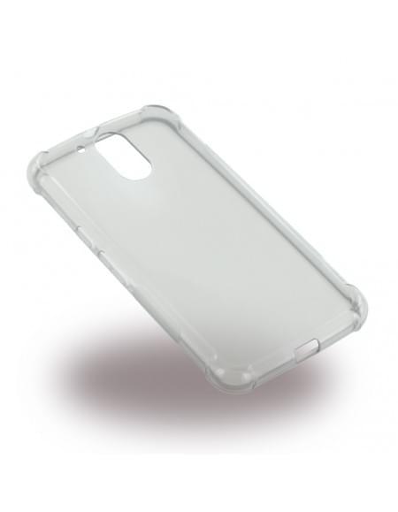 UreParts - Shockproof TPU Cover - Silikon Case / Schutzhülle - Motorola Moto G4, Moto G4 Plus - Transparent Schwarz