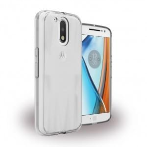 UreParts - Acrylic Case - Hardcover mit Bumper - Motorola Moto G4, Moto G4 Plus - Klar
