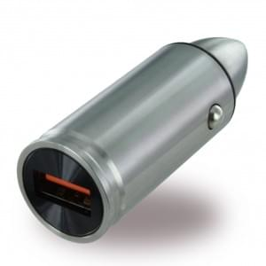 UreParts - USB Schnell Ladegerät - 3000mA - Silber