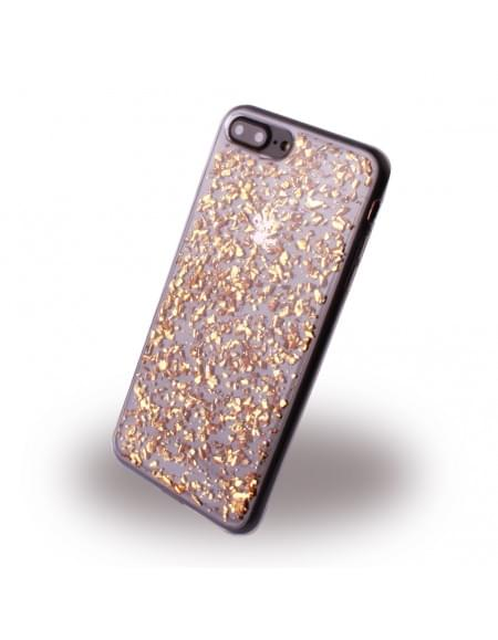 UreParts - Flakes Case - Silikon Hülle - Apple iPhone 7 Plus - Gold