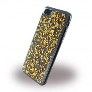 UreParts - Flakes Case - Silikon Hülle - Apple iPhone 7 / 8 - Gold