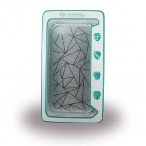 UreParts - Tribal Case - Silikon Cover / Schutzhülle - Apple iPhone 7 / 8 - Silber