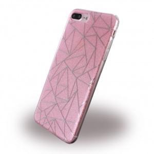 UreParts - Tribal Case - Silikon Cover / Schutzhülle - Apple iPhone 8 Plus / 7 Plus - Pink