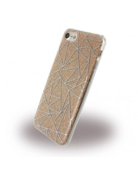 UreParts - Tribal Case - Silikon Cover / Schutzhülle - Apple iPhone 7 - Gold