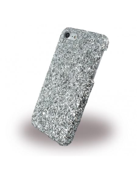 UreParts - Shiny Case / Glitzer Hardcase - Apple iPhone 7 - Silber