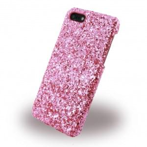 UreParts Shiny Case / Glitzer Hardcase Apple iPhone 7 / 8 Pink
