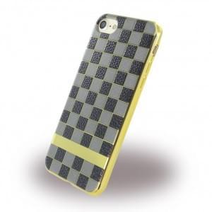 UreParts - Square Case - Handyhülle - Apple iPhone 7 / 8 - Schwarz