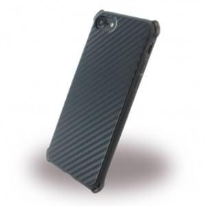 UreParts - Carbon Case / Hardcase - Apple iPhone 7 / 8 - Schwarz