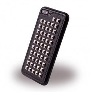 UreParts - Rock Spiky Case - Silikon Cover / Schutzhülle - Apple iPhone 8 Plus / 7 Plus - Schwarz