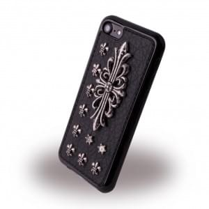 UreParts - Rock Coat of Arms Case - Silikon Cover / Schutzhülle - Apple iPhone 7 / 8 - Schwarz
