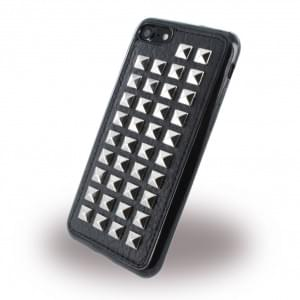 UreParts - Rock Spiky Case - Silikon Cover / Schutzhülle - Apple iPhone 7 / 8 - Schwarz