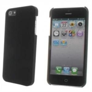 Hard Case / Back Cover für Apple iPhone SE, iPhone 5S, iPhone 5 - mit rauer Oberfläche - Schwarz
