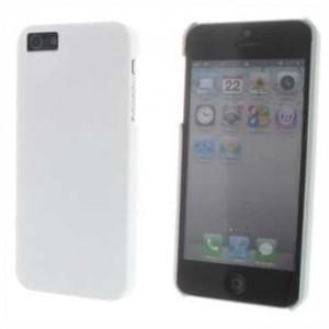 Hard Case / Back Cover für Apple iPhone SE, iPhone 5S, iPhone 5 - mit rauer Oberfläche - Weiß