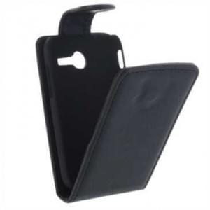 Flip-Style Kunstleder Tasche Vertikal mit Halterung für Samsung Galaxy Young 2 SM-G130