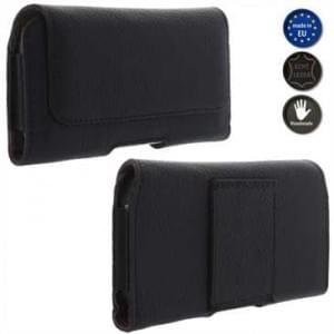 XiRRiX Echt Leder Smartphone Horizontaltasche - Innenmaß: 155 x 76,5 x 8 mm (4XL-Slim)