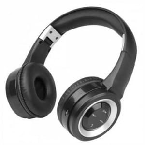 Fontastic Bluetooth On-Ear Kopfhörer Boom Schwarz / Silber