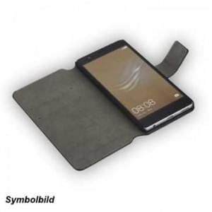BookStyle Handytasche Ledertasche PU Leder Vertikal mit Halterung für Samsung Galaxy S8 Plus - schwarz