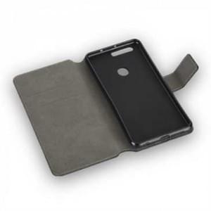BookStyle Tasche Vertikal für Huawei Honor 5C / 7 Lite - schwarz