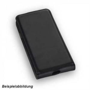 Flip-Style Kunstleder Handytasche Vertikal für Samsung Galaxy J3 (2017) - schwarz